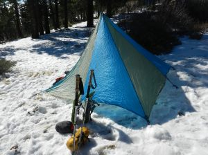 Black Diamond Megalite shelter, less than 2 1/2 pounds