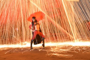 Raining protons!