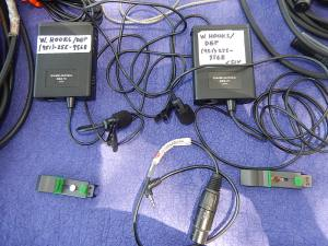 2 AT Pro 70 wired lav mics