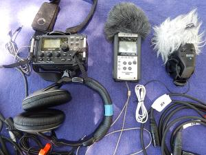Tascam DR-60D and Zoom H4N