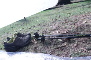 sm file_ shoes and poles in tarp