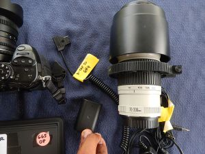 Switronix P-tap to GH4 power cable