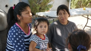 Patricia Magana and family, East Porterville, CA